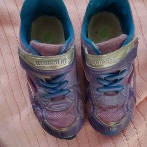 Girl's Tsukihoshi Sneakers in Lavender Size 13